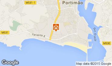 Mapa Praia da Rocha Apartamento 69157