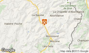 Mapa Morzine Apartamento 85400