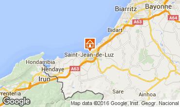 Mapa San Juan de Luz Apartamento 76153