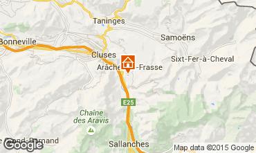 Mapa Les Carroz d'Araches Apartamento 59084