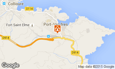 Mapa Port Vendres Apartamento 82101