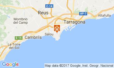Mapa Salou Villa 107778