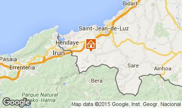 Mapa San Juan de Luz Apartamento 9299