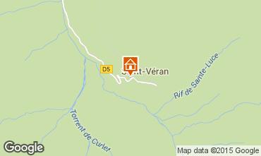 Mapa Molines Saint-V�ran Apartamento 67854