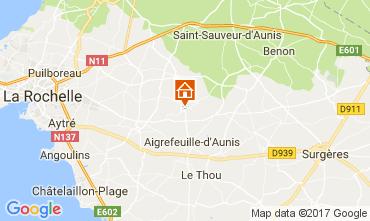 Mapa La Rochelle Alojamiento insólito 112463