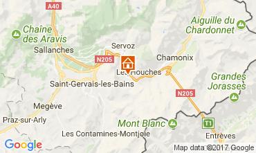 Mapa Chamonix Mont-Blanc Apartamento 16023