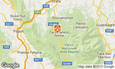 Mapa Caramanico Terme Casa 60764