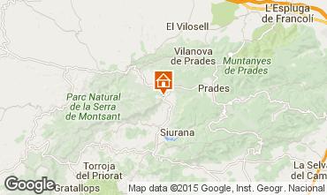 Mapa Tarragona Casa rural 42191