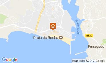 Mapa Praia da Rocha Apartamento 107960