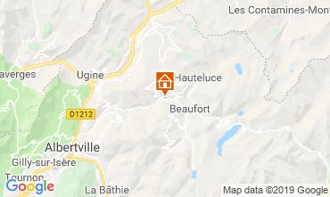 Mapa Areches Beaufort Chalet 117764