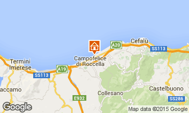 Mapa Cefal� Villa 40175