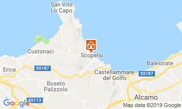 Mapa Scopello Apartamento 112787