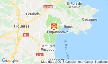 Mapa Ampuriabrava Villa 61447