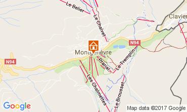 Mapa Montgenevre Apartamento 95754