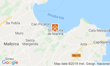 Mapa Alcudia Casa 119737