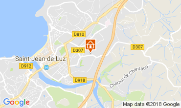 Mapa San Juan de Luz Apartamento 112867