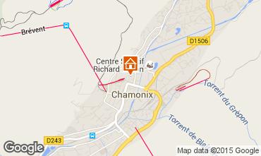 Mapa Chamonix Mont-Blanc Apartamento 66847