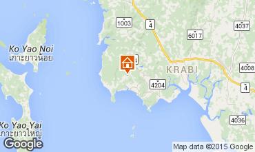 Mapa Krabi Villa 97702
