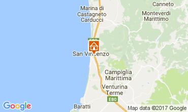 Mapa San Vincenzo Villa 108891