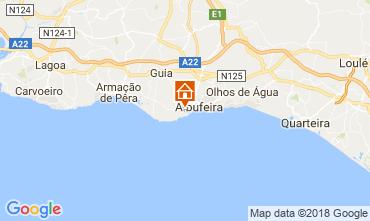 Mapa Albufeira Apartamento 113722