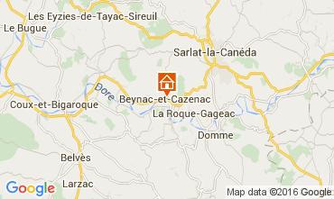 Mapa Beynac-et-Cazenac Casa 103716