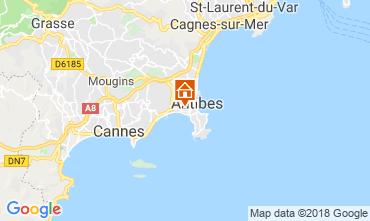 Mapa Juan les Pins Apartamento 115721
