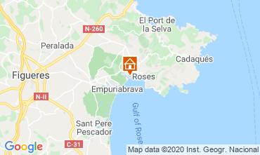 Mapa Rosas Apartamento 68588