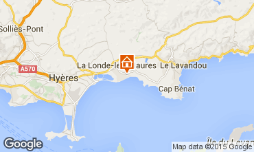 Mapa La Londe les Maures Apartamento 68566
