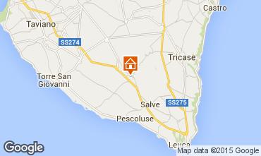 Mapa Pescoluse Apartamento 73801