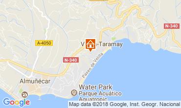 Mapa Almuñecar Apartamento 115717