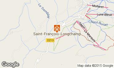 Mapa Saint François Longchamp Apartamento 67175