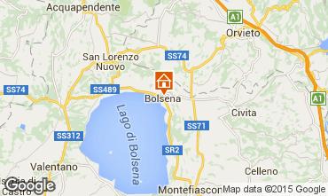 Mapa Bolsena Apartamento 68505