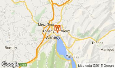Mapa Annecy le Vieux Apartamento 91199