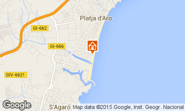 Mapa Playa d'Aro Apartamento 97258