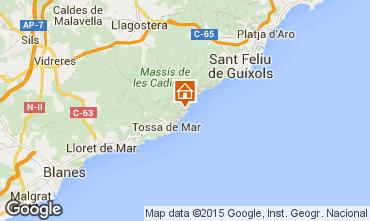 Mapa Tossa de Mar Apartamento 98225