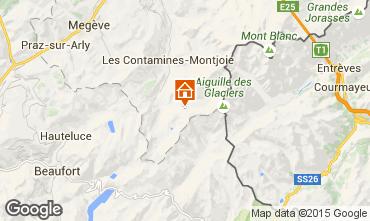 Mapa Les Contamines Montjoie Estudio 929
