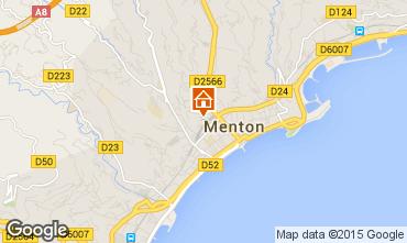Mapa Menton Apartamento 96723