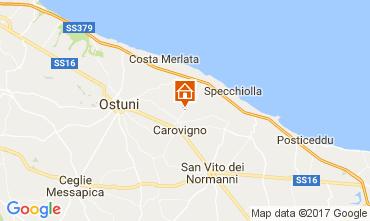 Mapa Carovigno Villa 109500