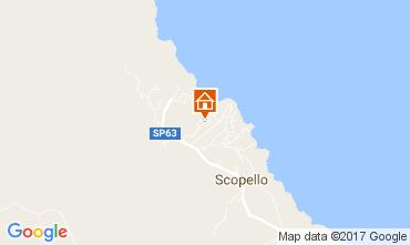 Mapa Scopello Villa 80024