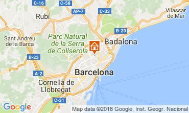 Mapa Barcelona Apartamento 72336
