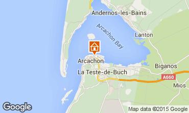 Mapa Arcachon Apartamento 75789