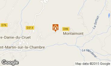 Mapa Saint François Longchamp Chalet 2522