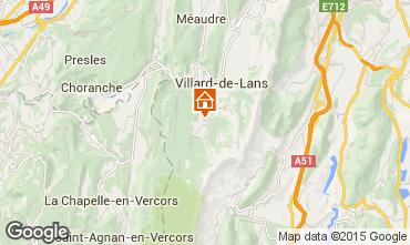 Mapa Villard de Lans - Corren�on en Vercors Chalet 3647