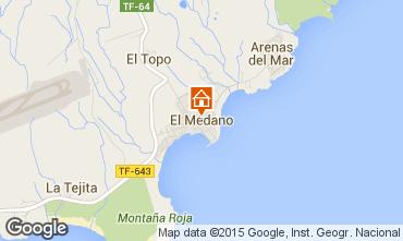 Mapa El Medano Apartamento 83636