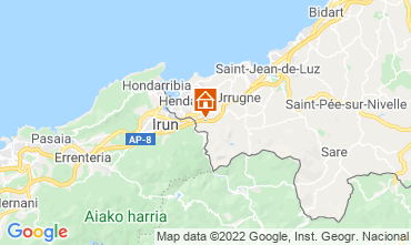 Mapa Hendaya Apartamento 9351