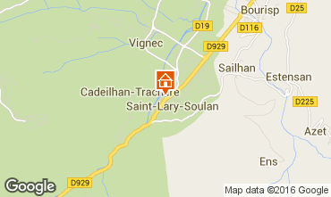 Mapa Saint Lary Soulan Apartamento 102268