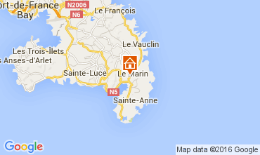 Mapa Le Marin Casa 105880