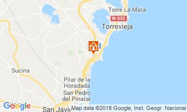 Mapa Torrevieja Apartamento 117300