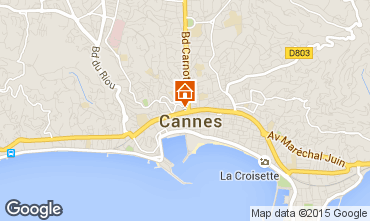 Mapa Cannes Apartamento 58684