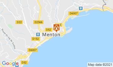 Mapa Menton Apartamento 101898